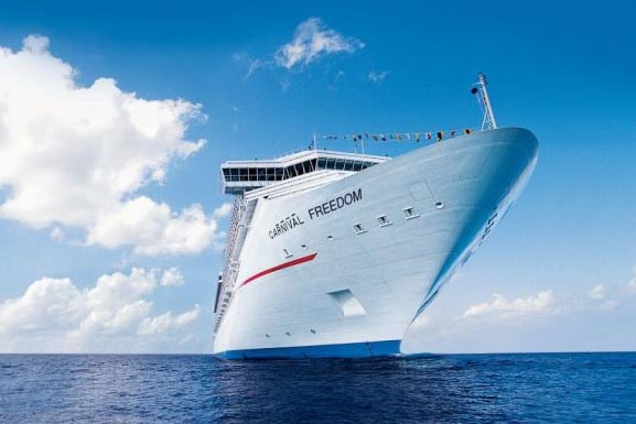In See stechen mit Carnival Cruises